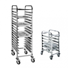 Dismounting Stainless Steel Bakey Trolley (Sing/Double Line)
