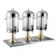 JETStainless Steel Round Beverage Dispenser(Gilded)
