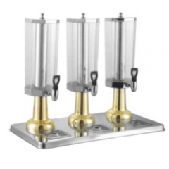 JET Stainless Steel Octagonal Beverage Dispenser(Gilded)