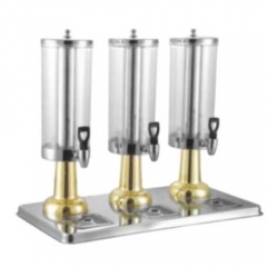 JET Stainless Steel Round Beverage Dispenser(Gilded)