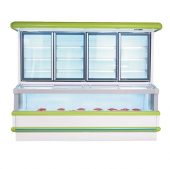 LDZ Europe-Style Combi Freezer/Fridge