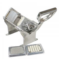 Stainless Steel Horizontal Manual Potato Chips Machine A